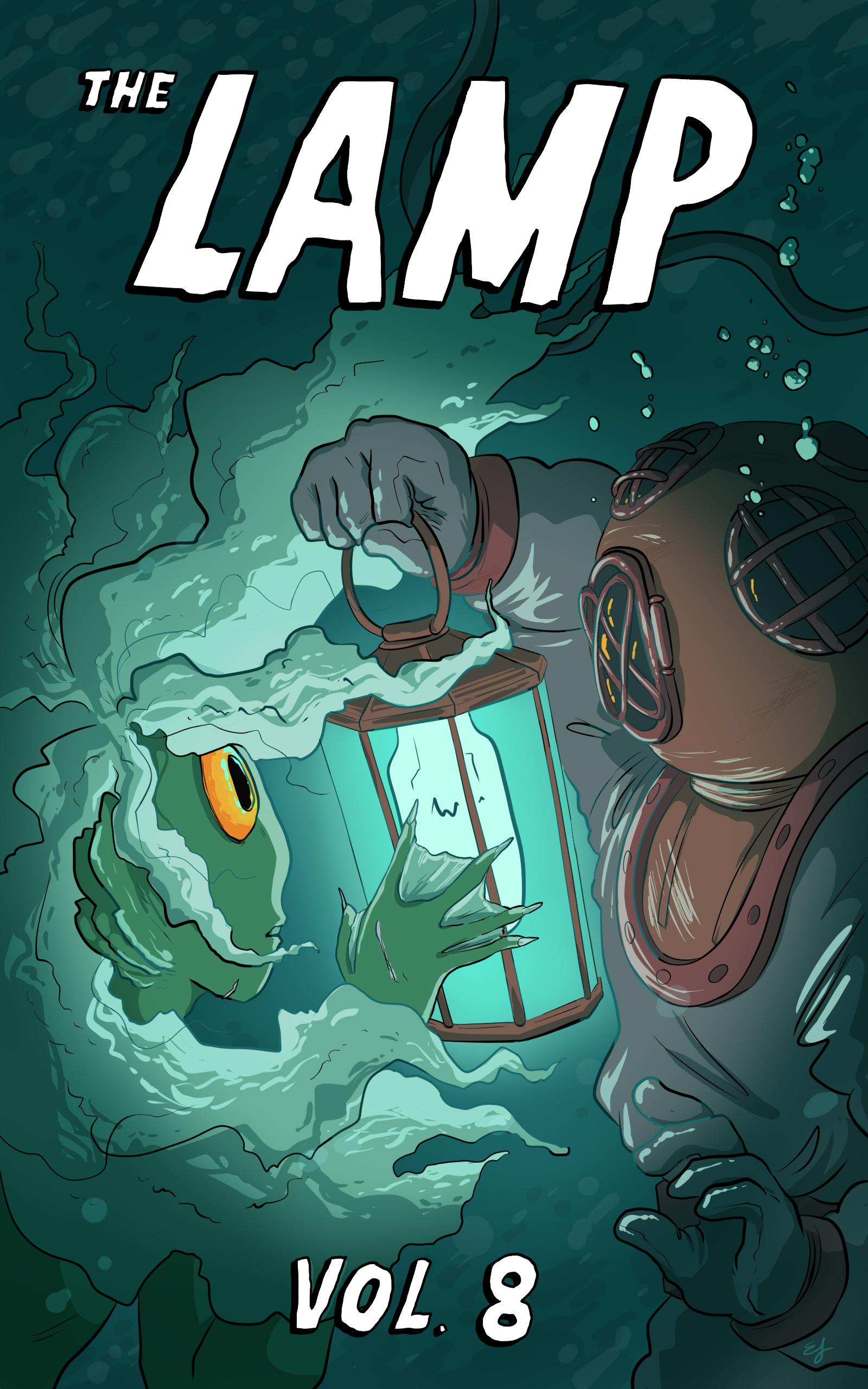 Digital magazine cover (The Lamp) (2018)