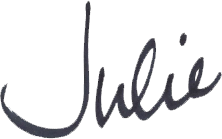 Julie Buxton - Signature