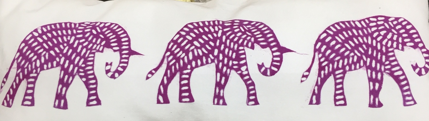 Fresia elephant pillow front.JPG