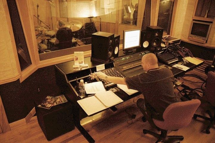 John Saylor at the console.jpg
