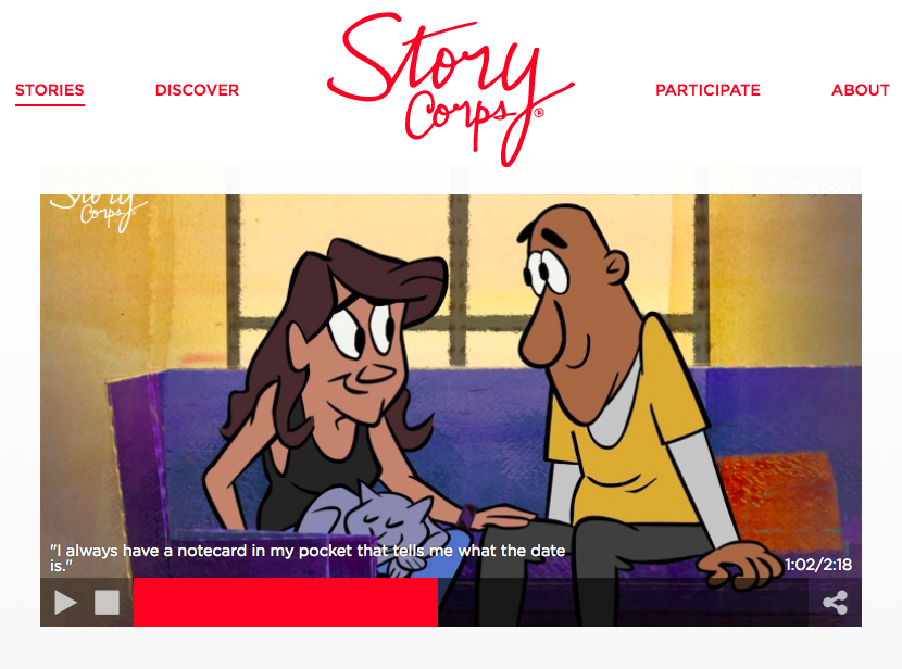 StoryCorps Audio: Gweneviere Mann & Yasir Salem