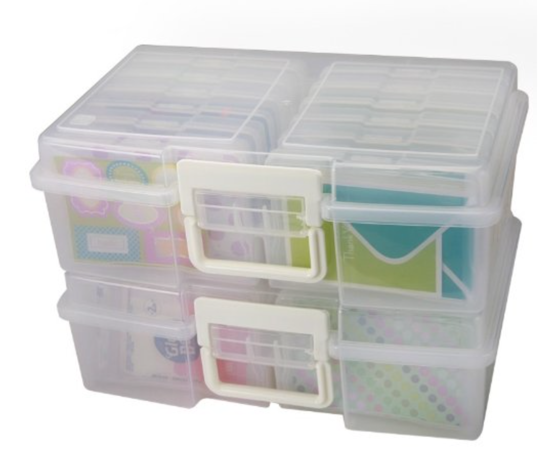 Large Photo Storage Boxes - From Amazon: This is for the person with TONS of task cards!