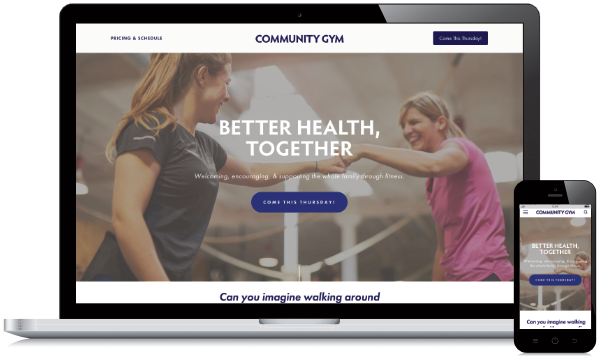 Community Gym Website