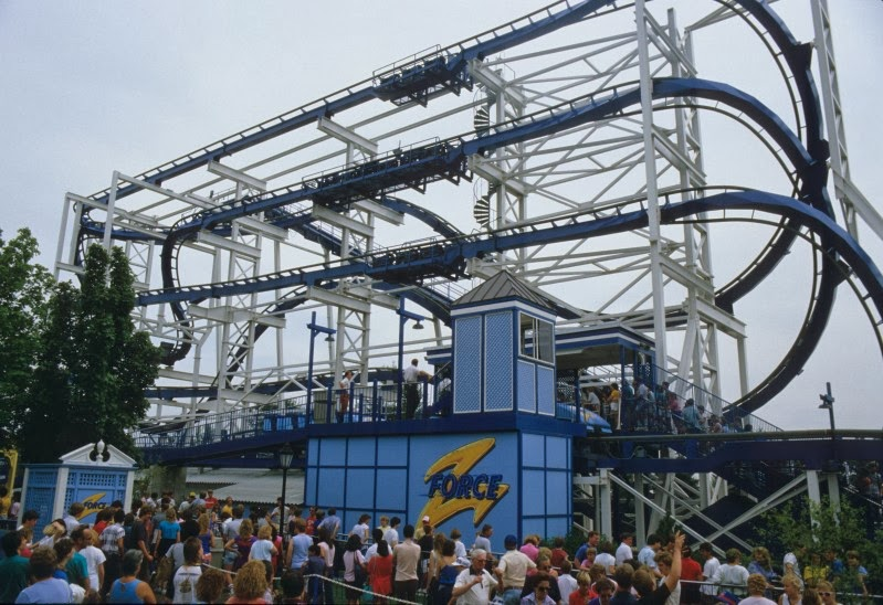 Z-Force as it stood at Six Flags Great America