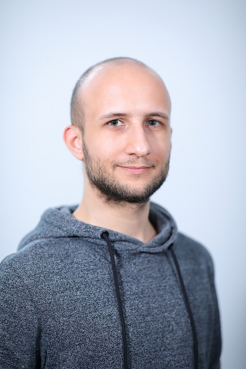 Attila Böröcz   I can literally ask anyone if I have a problem. So being a junior doesn't feel like being a junior. I think one of the best thing about working at AdNovum is the work atmosphere.