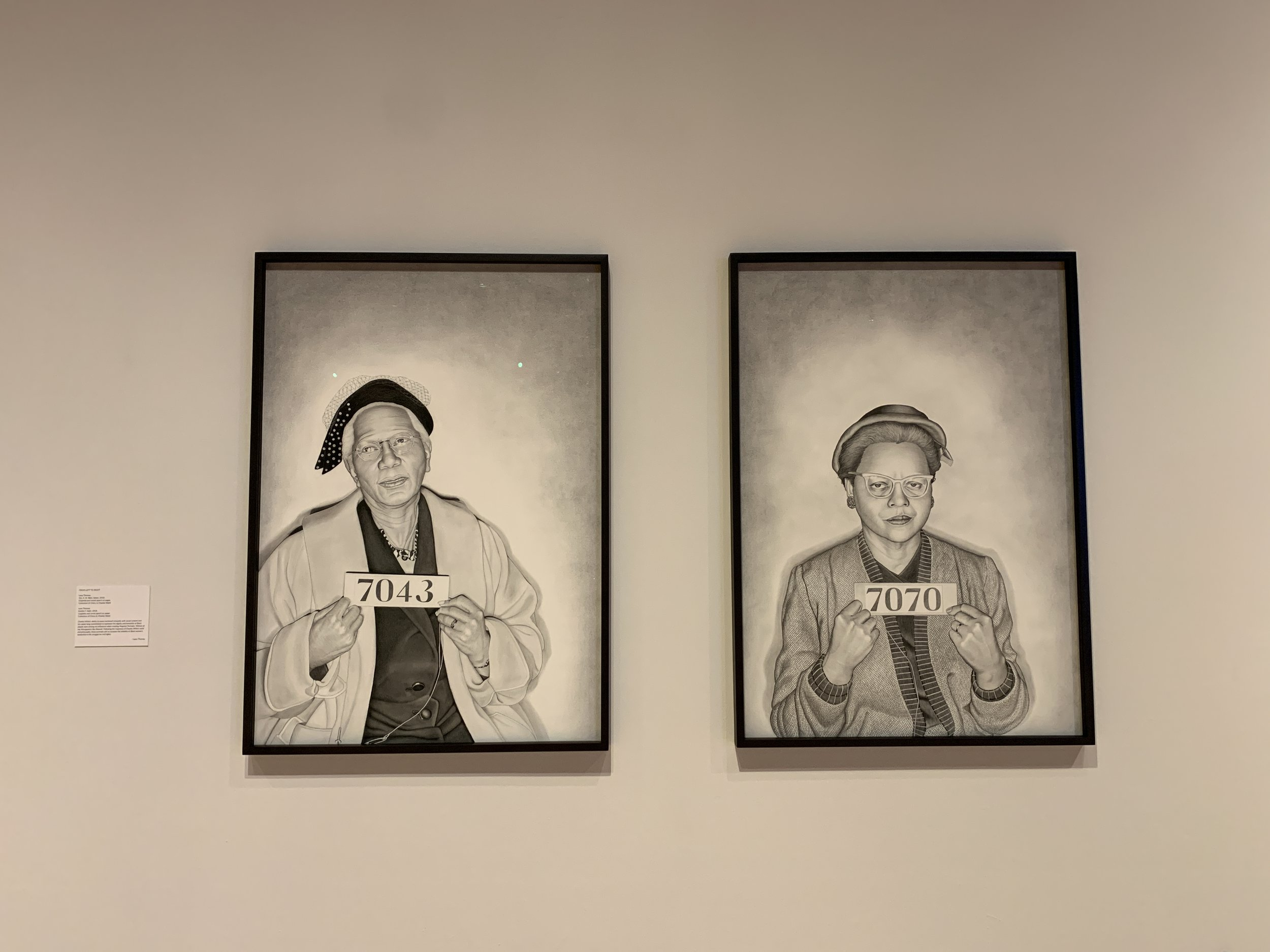 Lava Thomas. Mugshot Portraits: Women of the Montgomery Bus Boycott.
