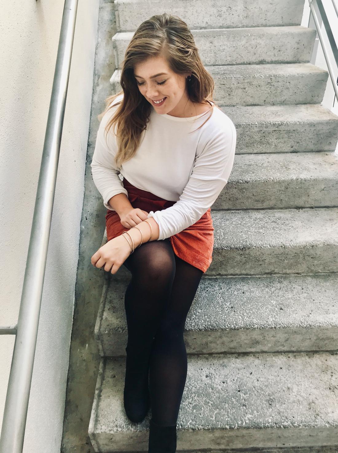 Pumpkin Skirt