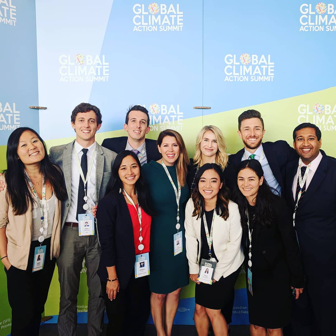 Nate and CELIons at the Global Climate Action Summit