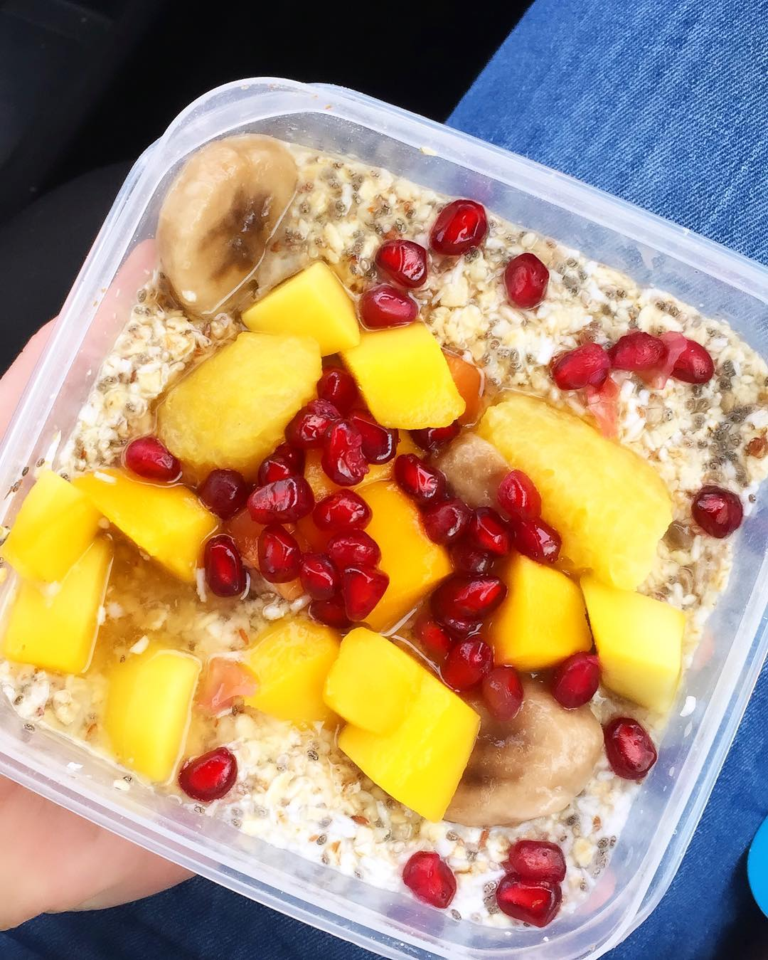 Overnight Oats Option 1