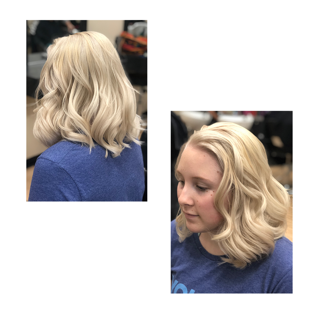 hair services -