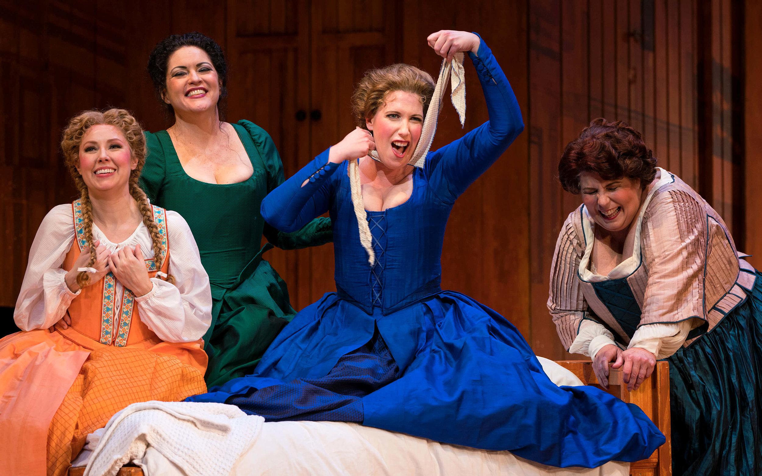 Photo Credit: Gary Payne   Falstaff- San Diego Opera