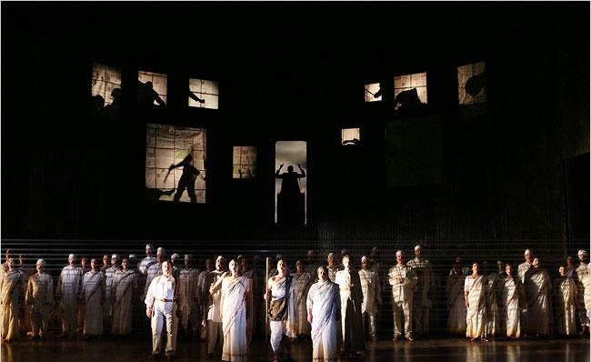 Photo Credit: Ken Howard    Satyagraha- The Metropolitan Opera