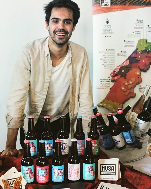 Ricardo has some exciting news............... His amazing MUSA beers from Lisbon are available from today in 30 litre kegs!!!! So exciting and we have taken orders STRAIGHT AWAY! Get in touch with Ricardo or one of our Marta Vine team to find out prices and to put in your order!  Don't tell anyone but we have been told they are an amazing price for the quality 🤫  #ilovebeer