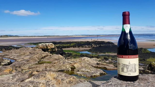 Today's Wine on Tour is a 1978 Cavaleiros Red that is enjoying the sights of this beautiful historic town.  If you haven't had the chance to drink a wine that has aged well in the bottle please get in touch because we have a range from 1975 onwards that are an absolute delight.  Available @standrewswine and many others.  #oldwine