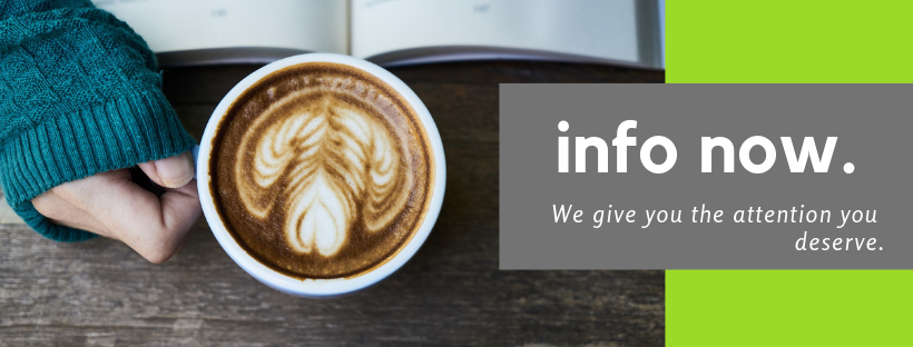 info now hands coffee