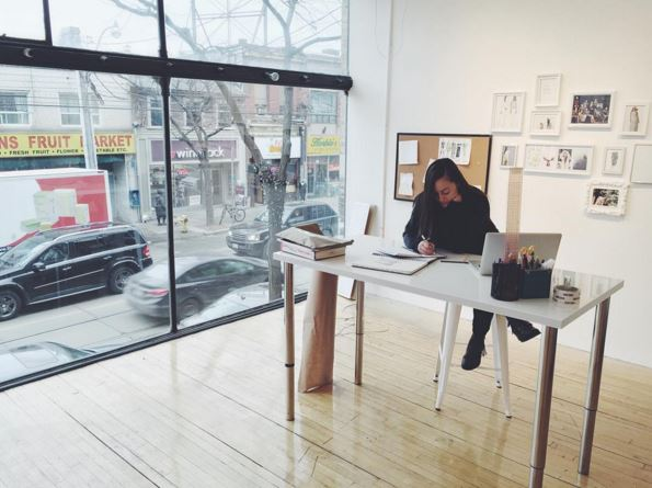 Toronto Designer Conni from ZAFIRA Apparel