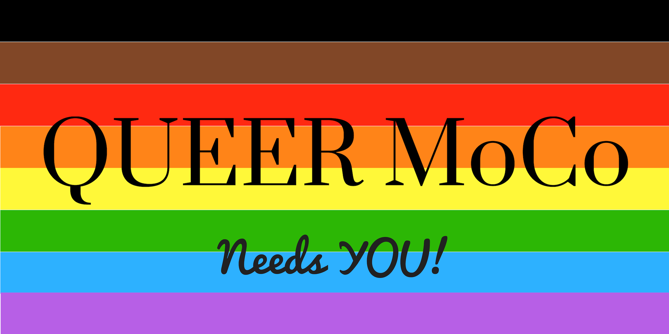 Queer MoCo - A place for LGBTQIA2SP+ people to connect in Montgomery County Maryland, and work together to bring about permanent queer gathering spaces here.Find Queer MoCo:Facebook, Instagram, Twitter