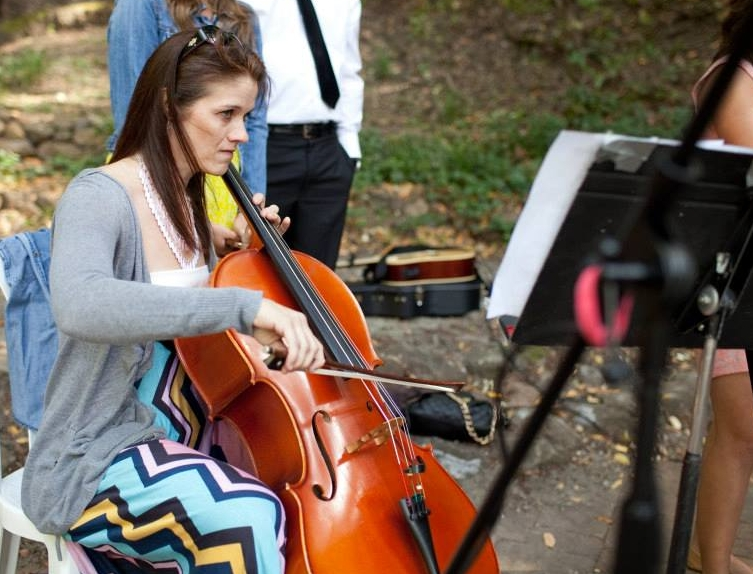 Cello Performance - Brandy Ruscica has played solo cello on recordings, played for countless weddings (solo, duets, quartets), plays cello for worship and special events.