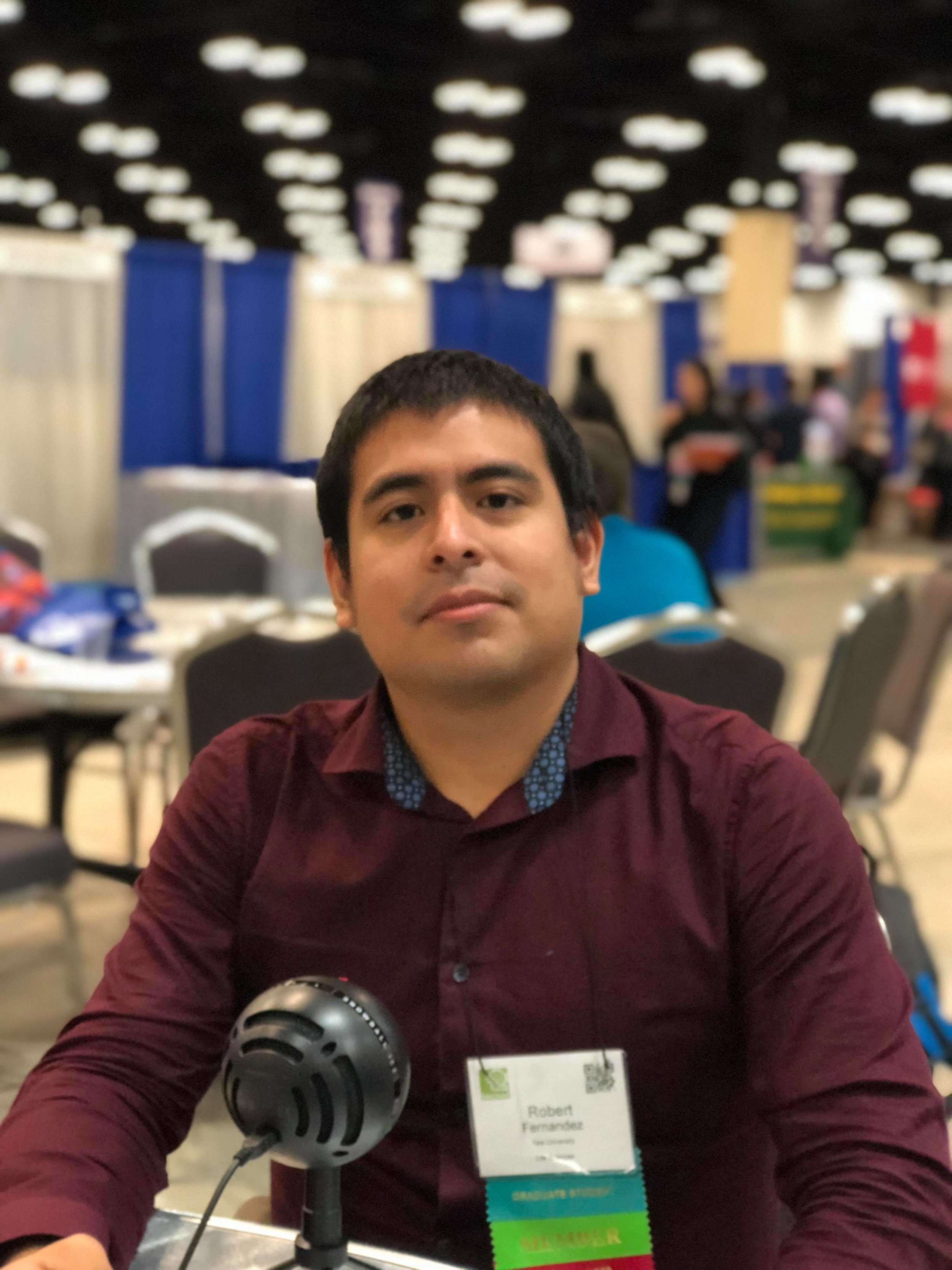 Robert W. Fernandez , Ph.D. Candidate in Molecular Biophysics & Biochemistry at Yale University and Founder of Científico Latino