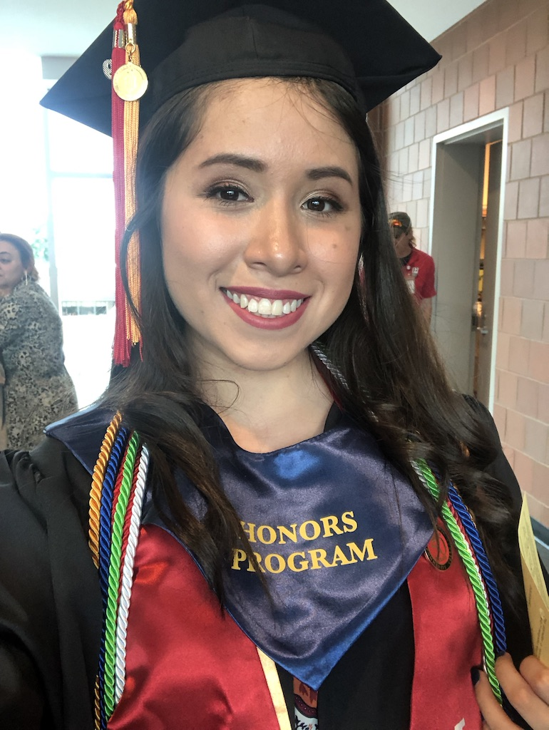 Brenda Noriega, Undergraduate Student in Aerospace Engineering at Rutgers University.  From Lima, Peru.