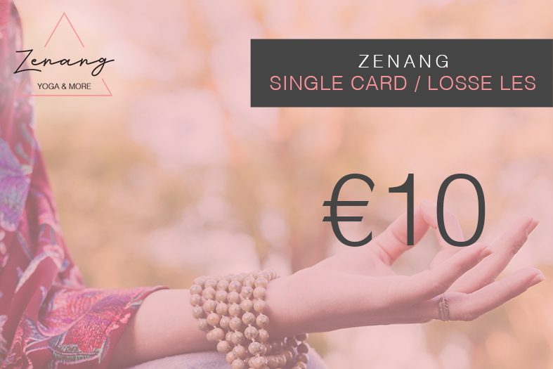 Single Card.Losse Les. - To be used at one time for one daily class only.