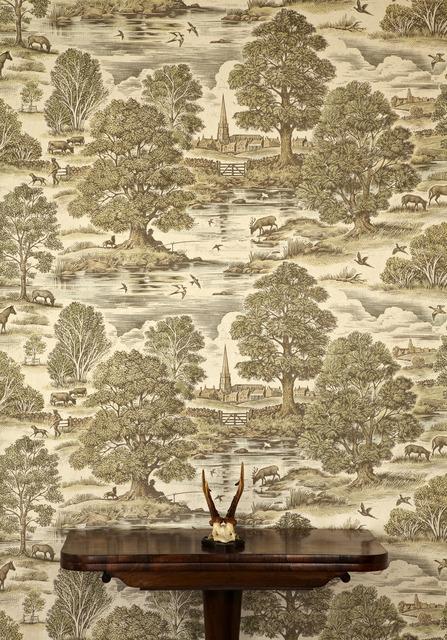 Lewis & Wood Royal Oak Wallpaper