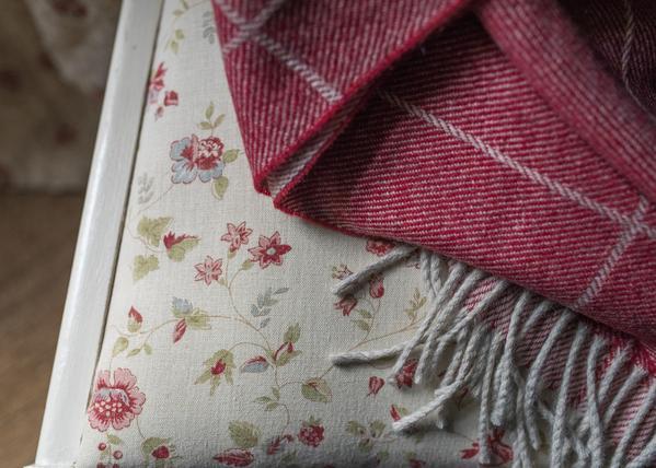 Inchyra Framboise-Ivory-w-Throw-Cranberry-Check.jpg
