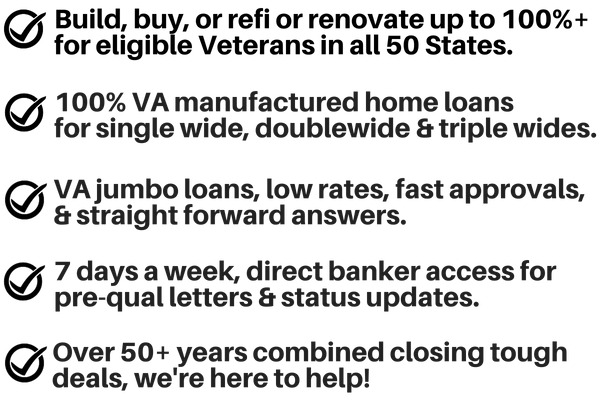 Top Rated Local Loan Guide For All Va Home Loan Programs Buildbuyrefi Home Loan Experts 1 Construction Renovation Cash Out Purchase Loan Experts Buildbuyrefi Com