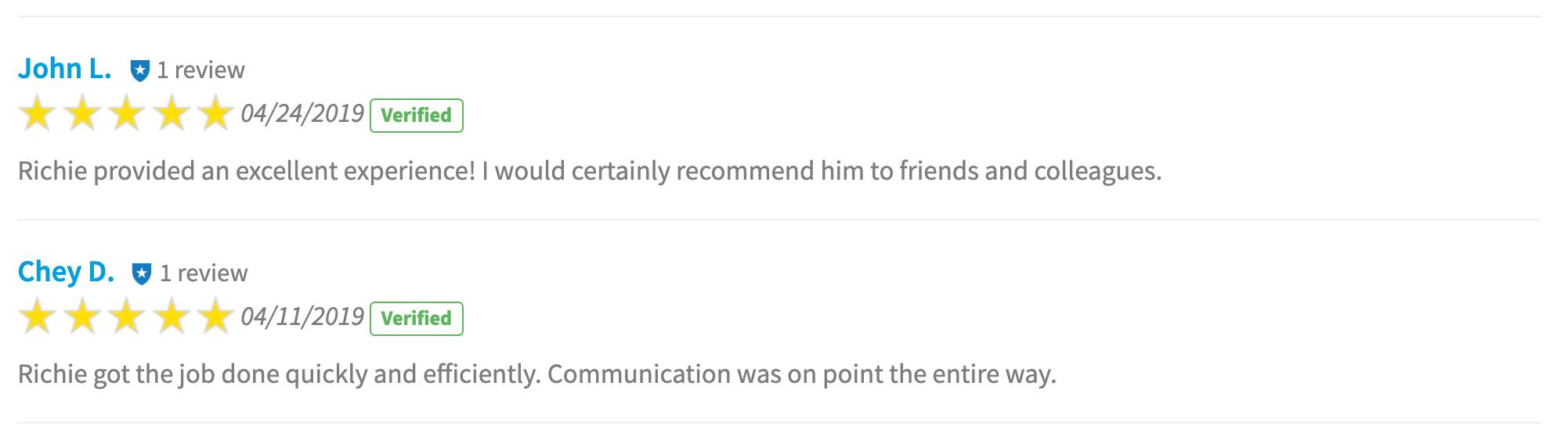 BuildBuyRefi.com reviews, Build Buy Refi reviews with 5 star rating for April and May 2019.
