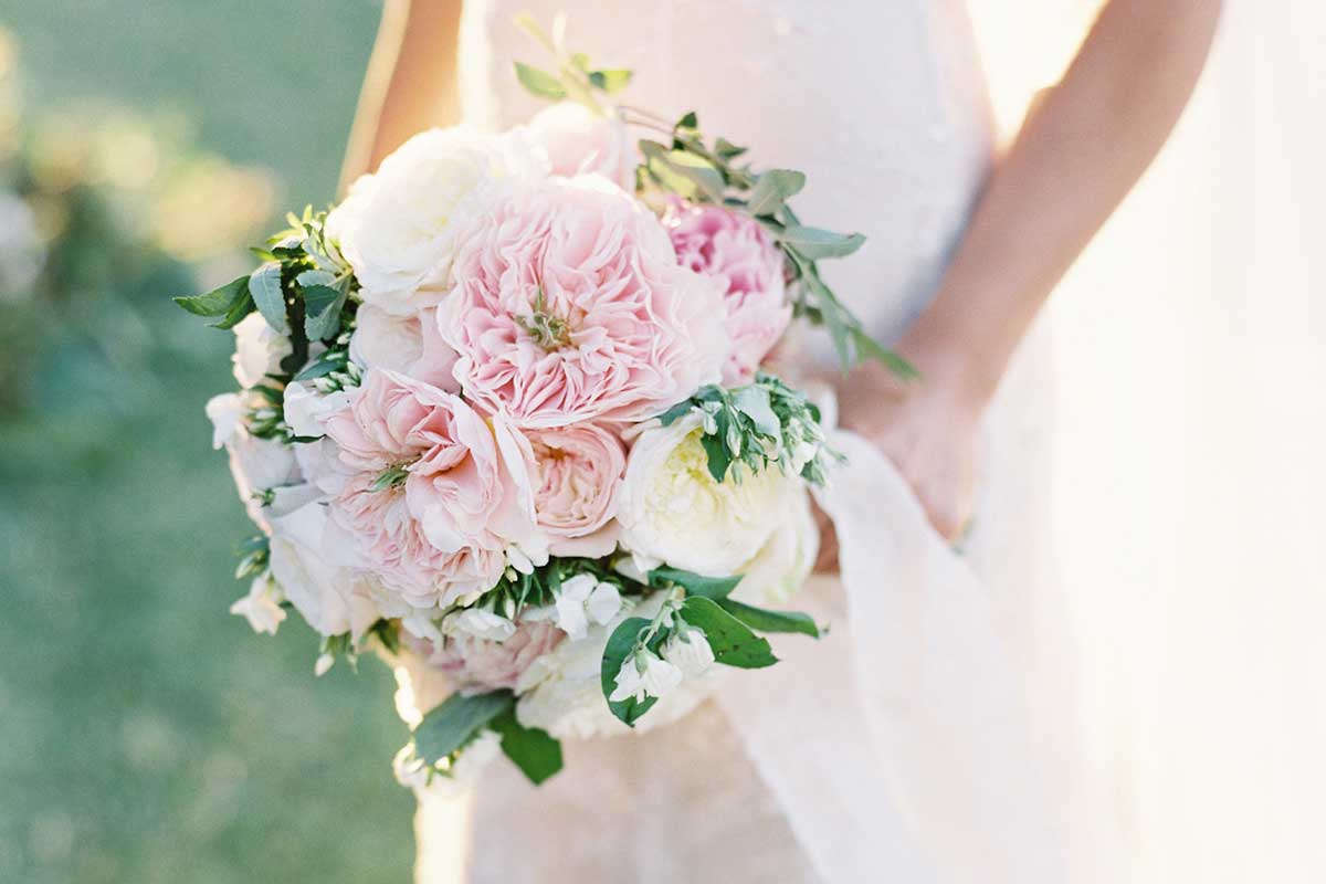 Blush Wedding  bouquet Federica Ambrosini