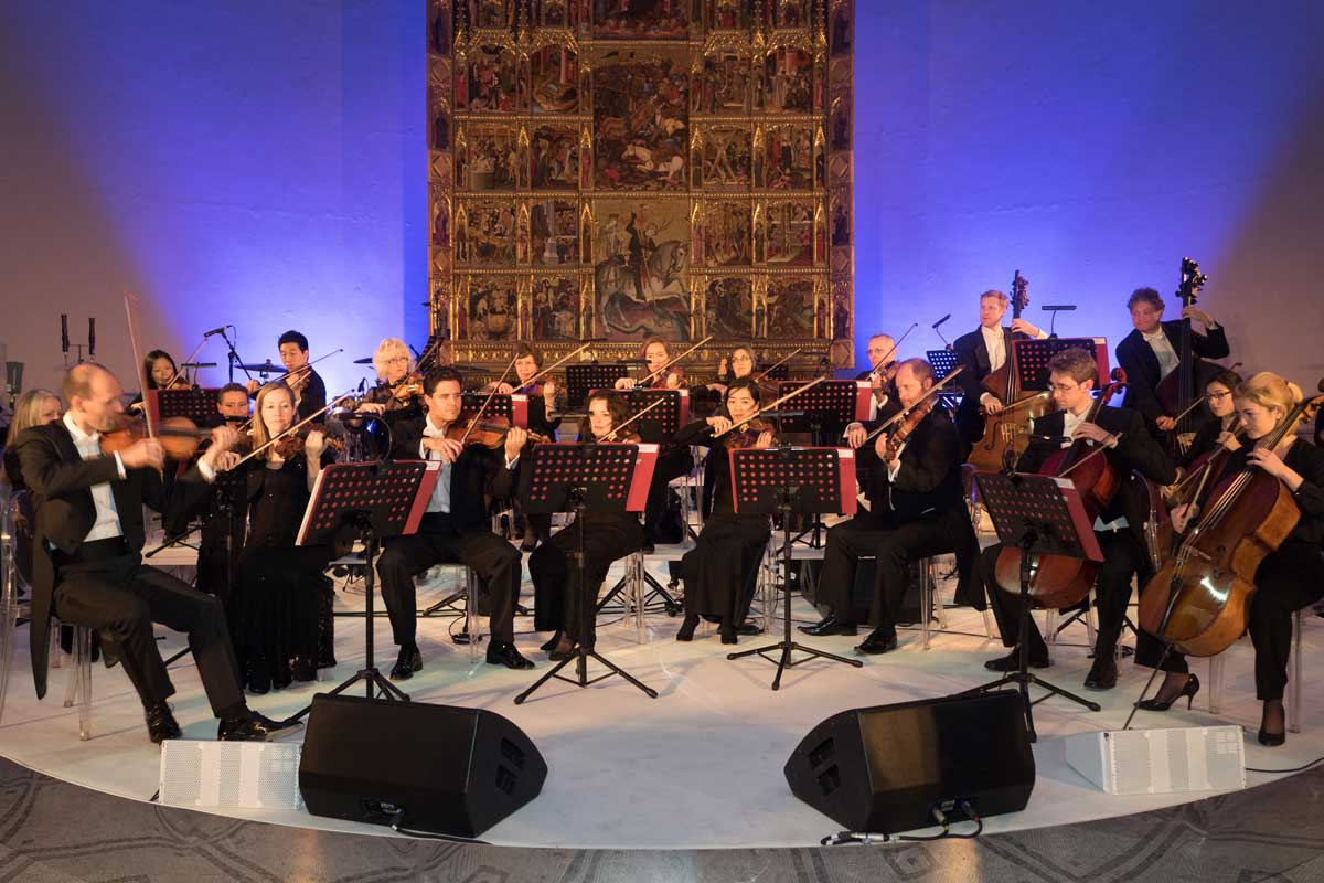 London philharmonic orchestra wedding V&A Museum