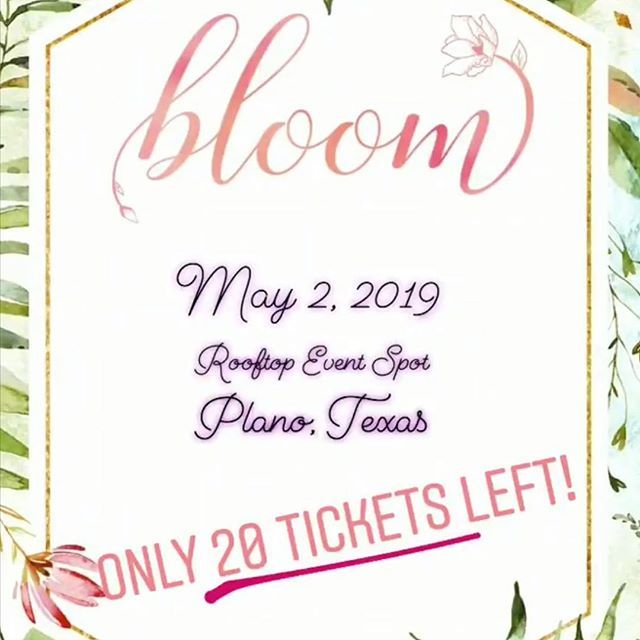 Pregnancy Prayers is excited to be a part of the @dallasmomsblog Bloom event this year! Attendants will be given a free copy of the Pregnancy Prayers book in their swag bag!!! 🎉🎉🎉 If you're in the #dfw area go get your tickets to this awesome event!