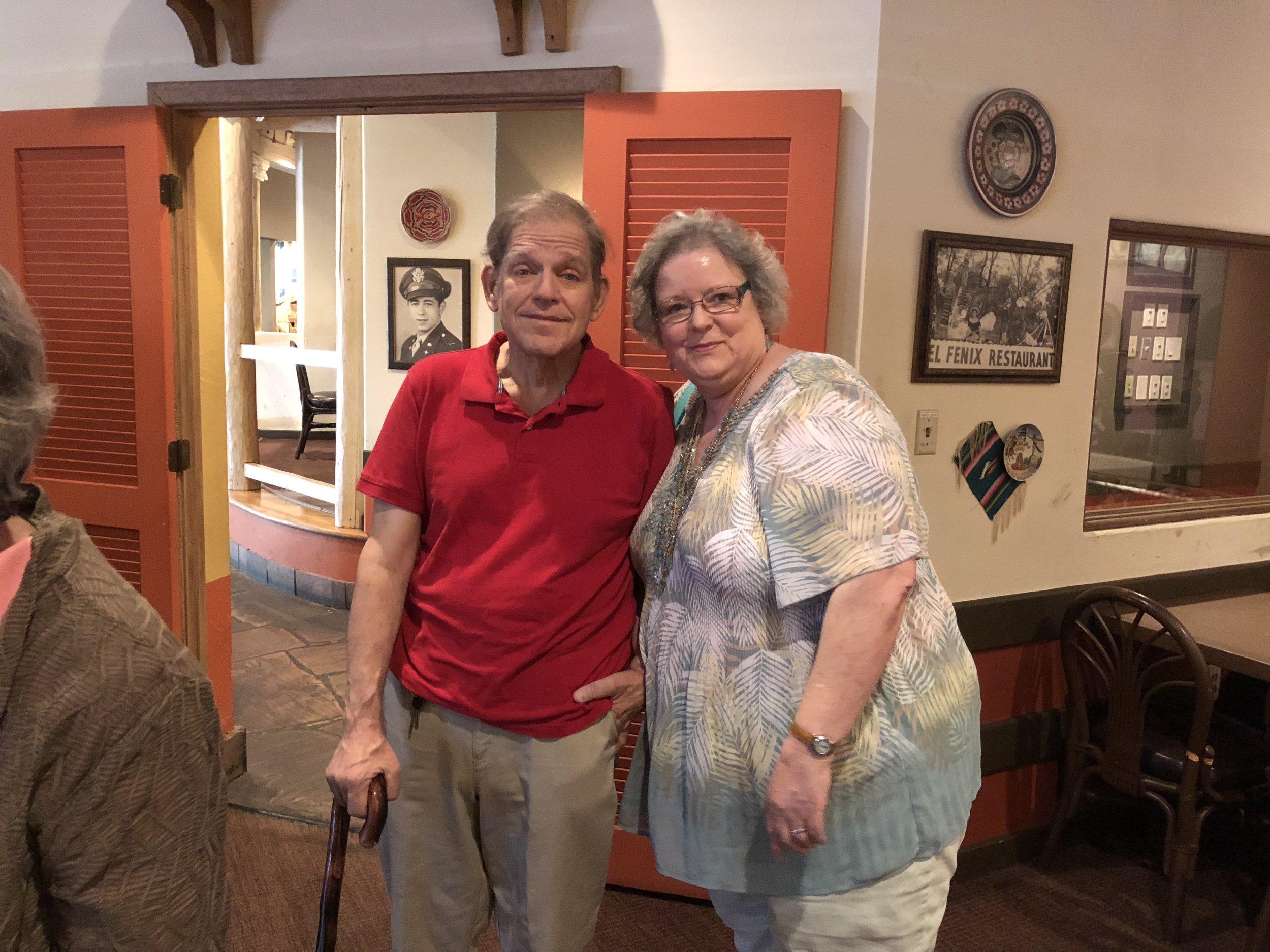 Carol Leslie Hargis and Hubby