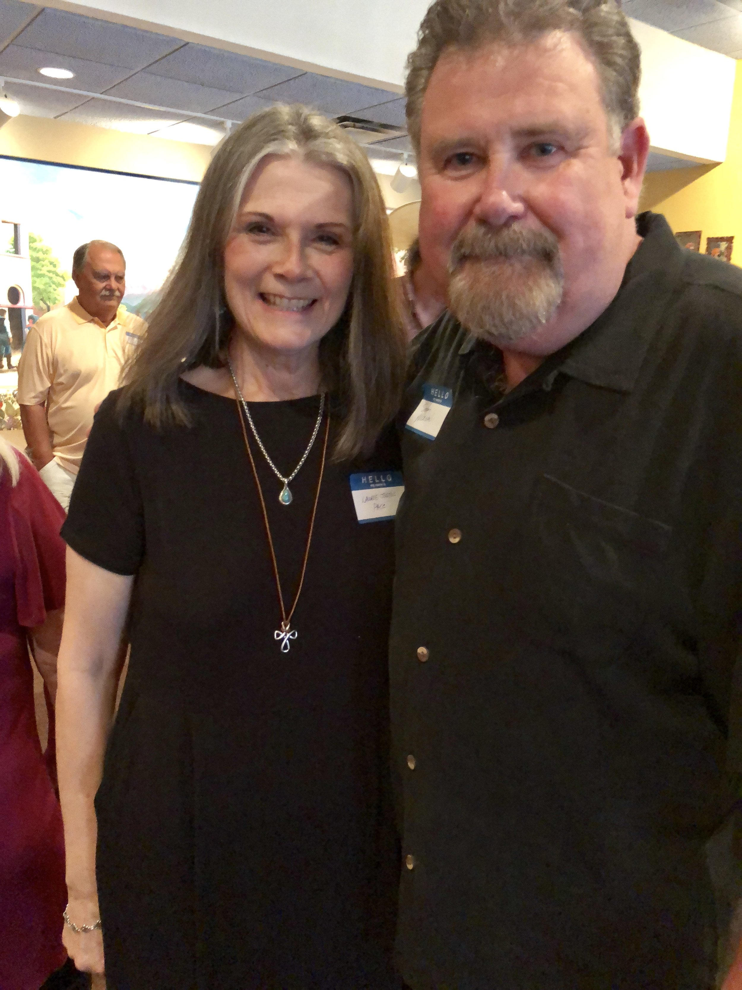 Laurie Justus Pace and Sonny Morgan