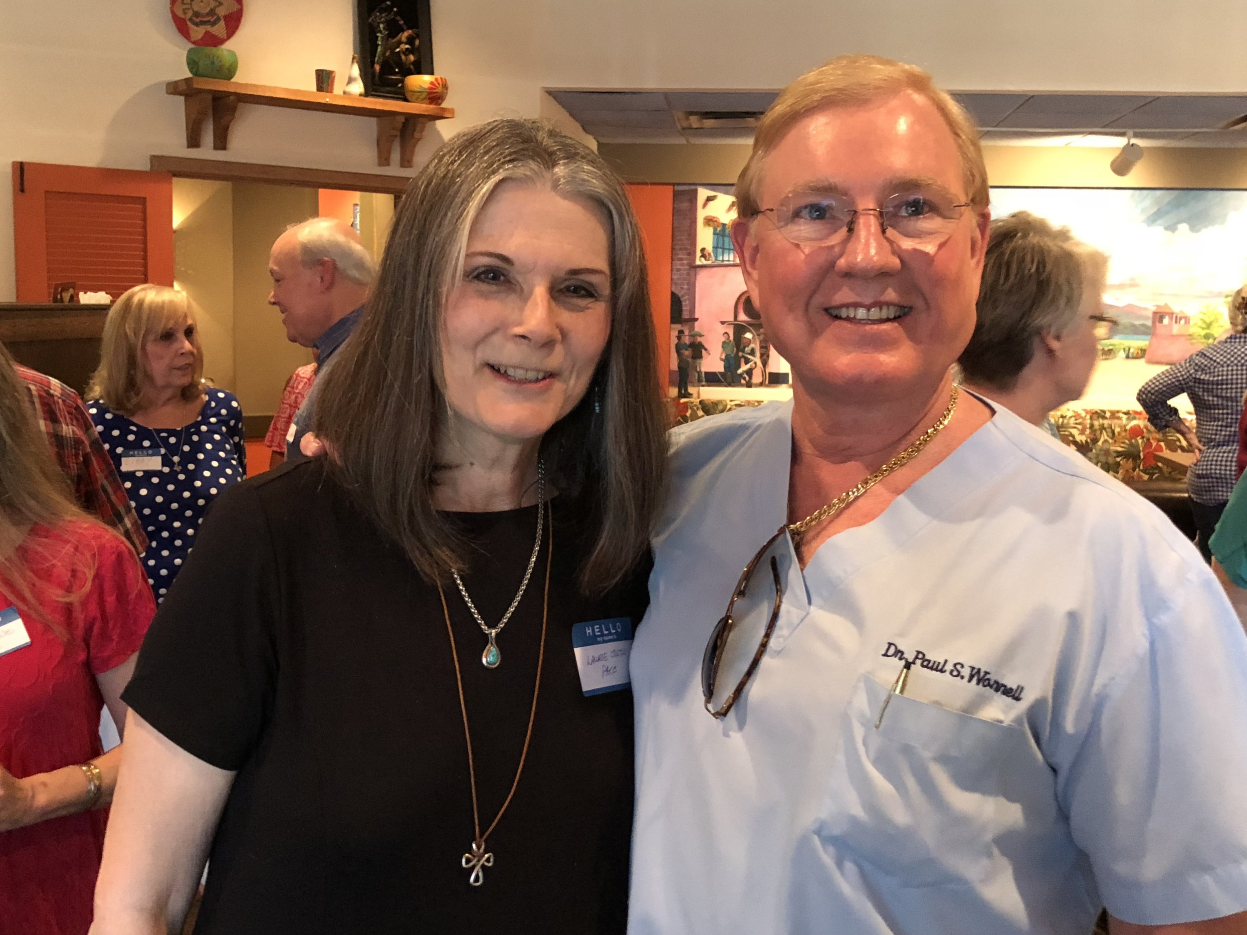 Laurie Justus Pace and Paul Stephen Worrell