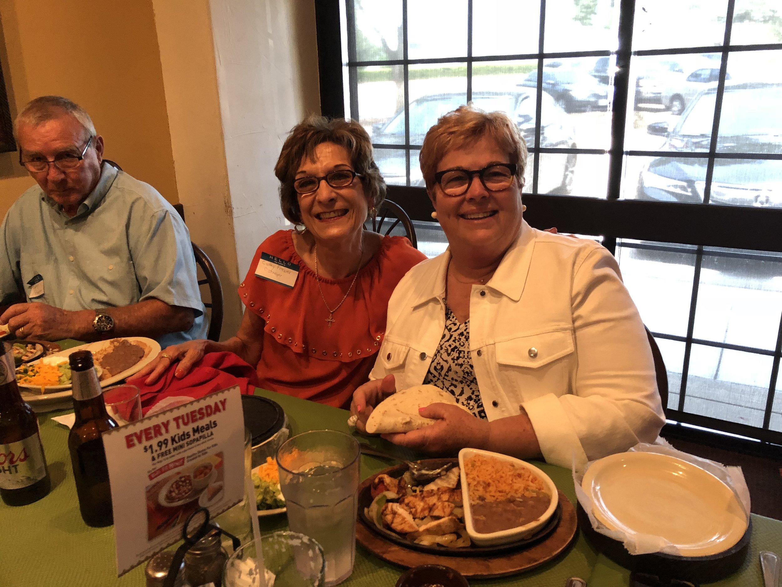 Cathy Frazier Ostmeyer and Sally Russell Grinsfelder