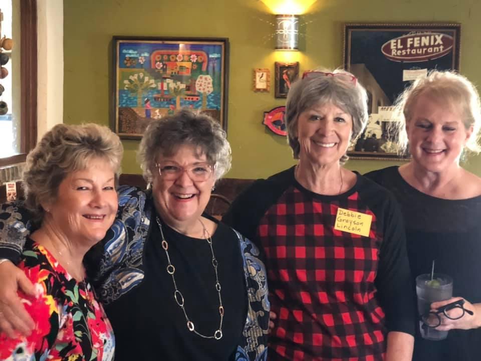 Nancy Woodruff, Ann Krause, Debbie Grayson and Lee Archer
