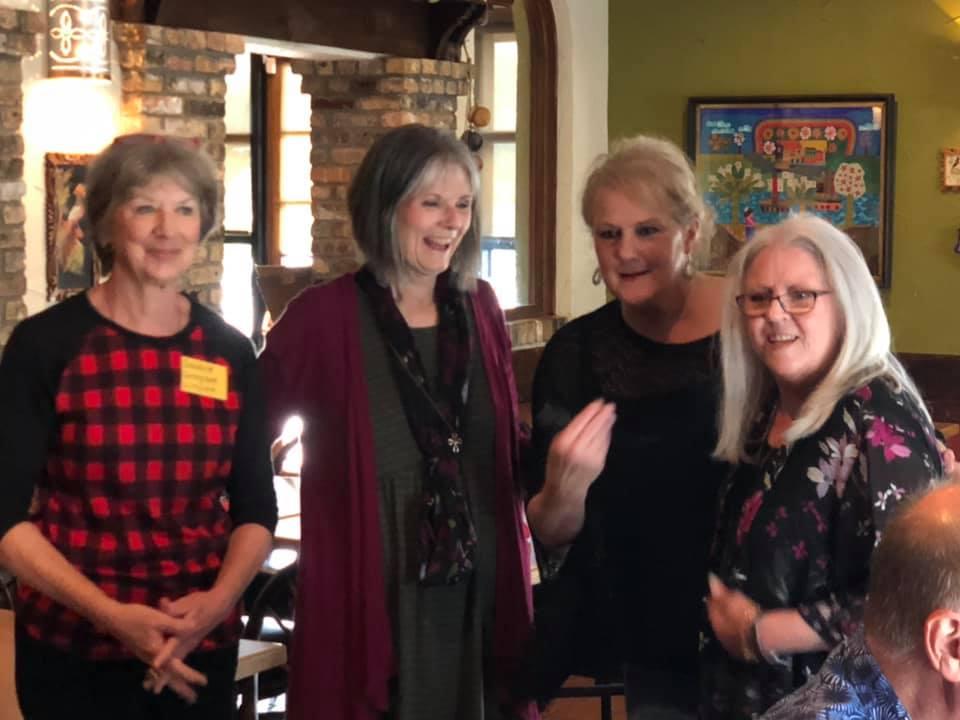 Debbie, Laurie, Lee and Sarah