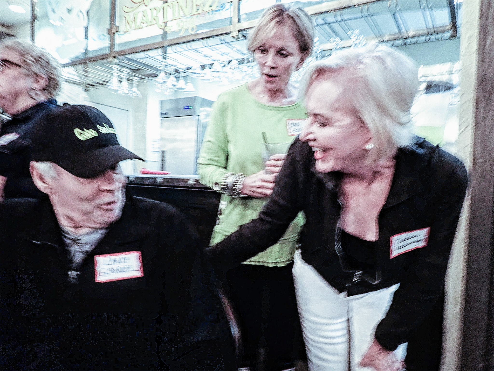 Larry G, Nancy Cleland and Barbara Yarborough