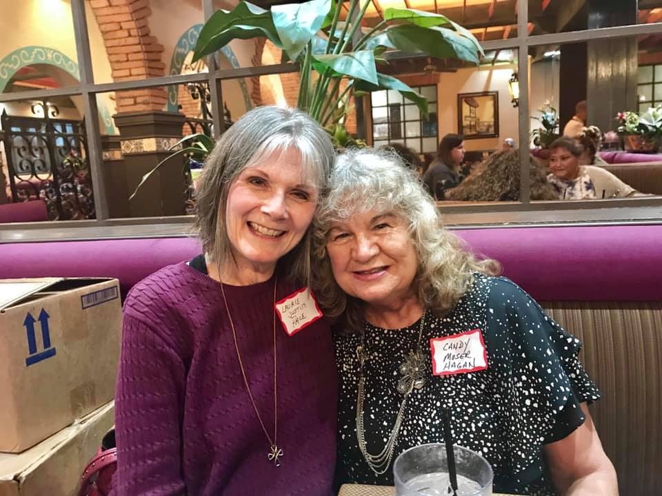 Laurie Justus Pace and Candy Moser Hagan