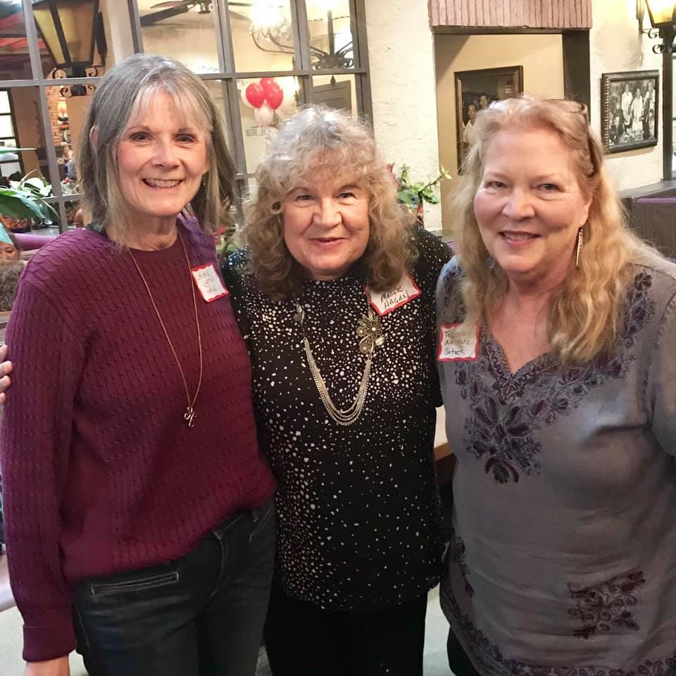 Laurie Justus Pace, Candy Moser Hagan and Texanne Amstutz Sotack