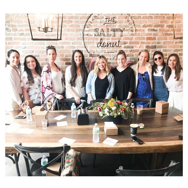 A little Sunday flashback to our Tastemakers Galentine's Edition hosted by @thesaltydonut because we needed a little sweet reminder on the last day of the weekend. We absolutely loved spending the day with the Salty Donut crew tasting their not-yet launched Valentine's Donuts, we felt so pampered getting the first taste + they sure didn't disappoint! Plus Gal time is the best time, are we right? Thank you for having us @amanda_doesdonuts + @thesaltydonut team. ⠀⠀ ⠀⠀ ⠀⠀ ⠀⠀ Miami local mamas, what is your favorite Salty Donut? We honestly can't choose, so hard!⠀⠀ ⠀⠀ ⠀⠀ #MyMpire. #BuildYourMpire. #MpireTribe