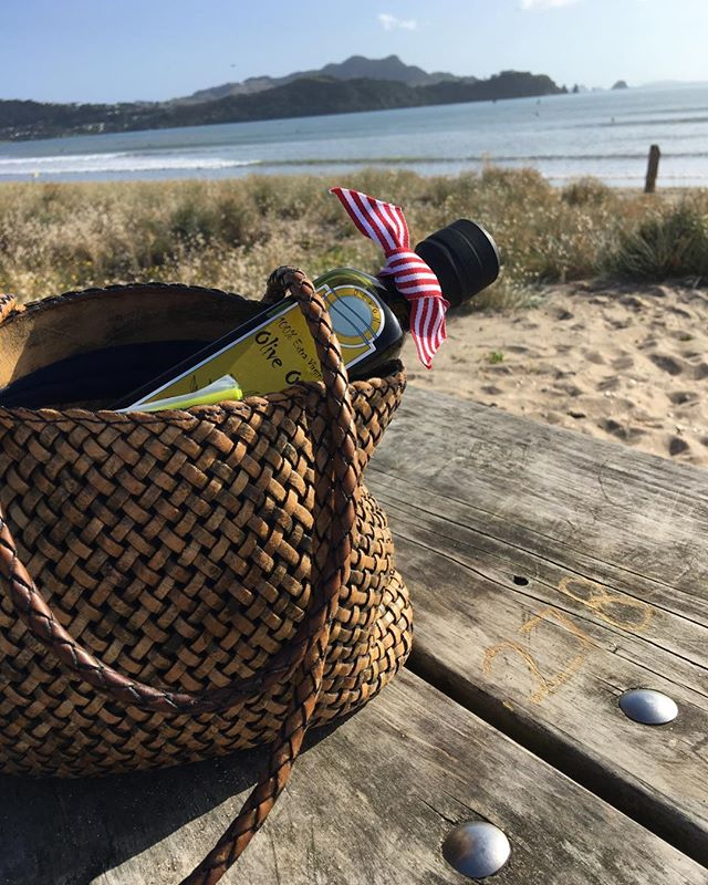 Where's Olly? Exhausted after a great Cooks Beach Gala. Time to chill. #wheresolly #newzealand #nzoliveoil #extravirginoliveoil #coromandel .