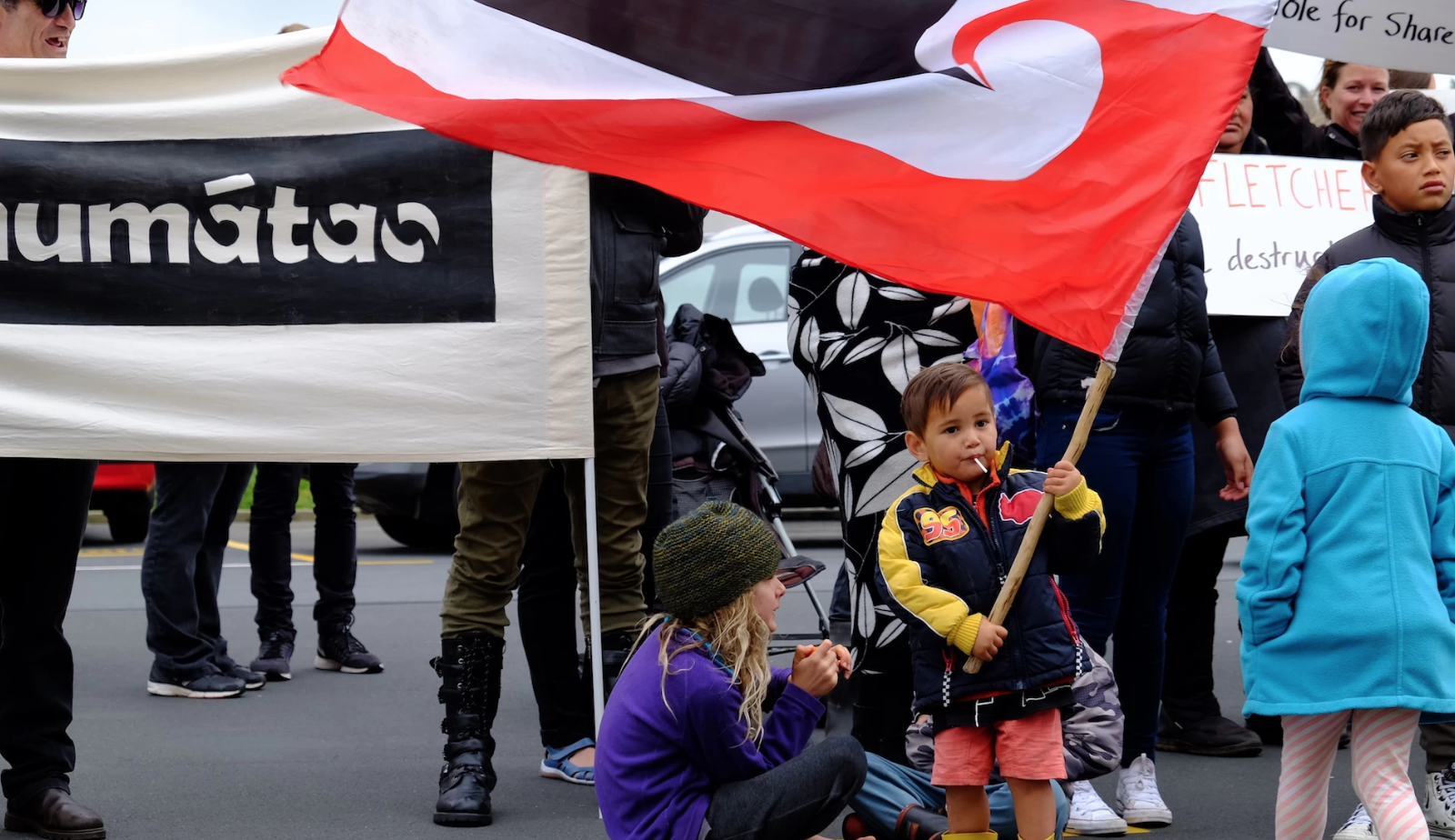 This Hapū Is Taking the Fight For Their Land To the Steps of NZ Parliament