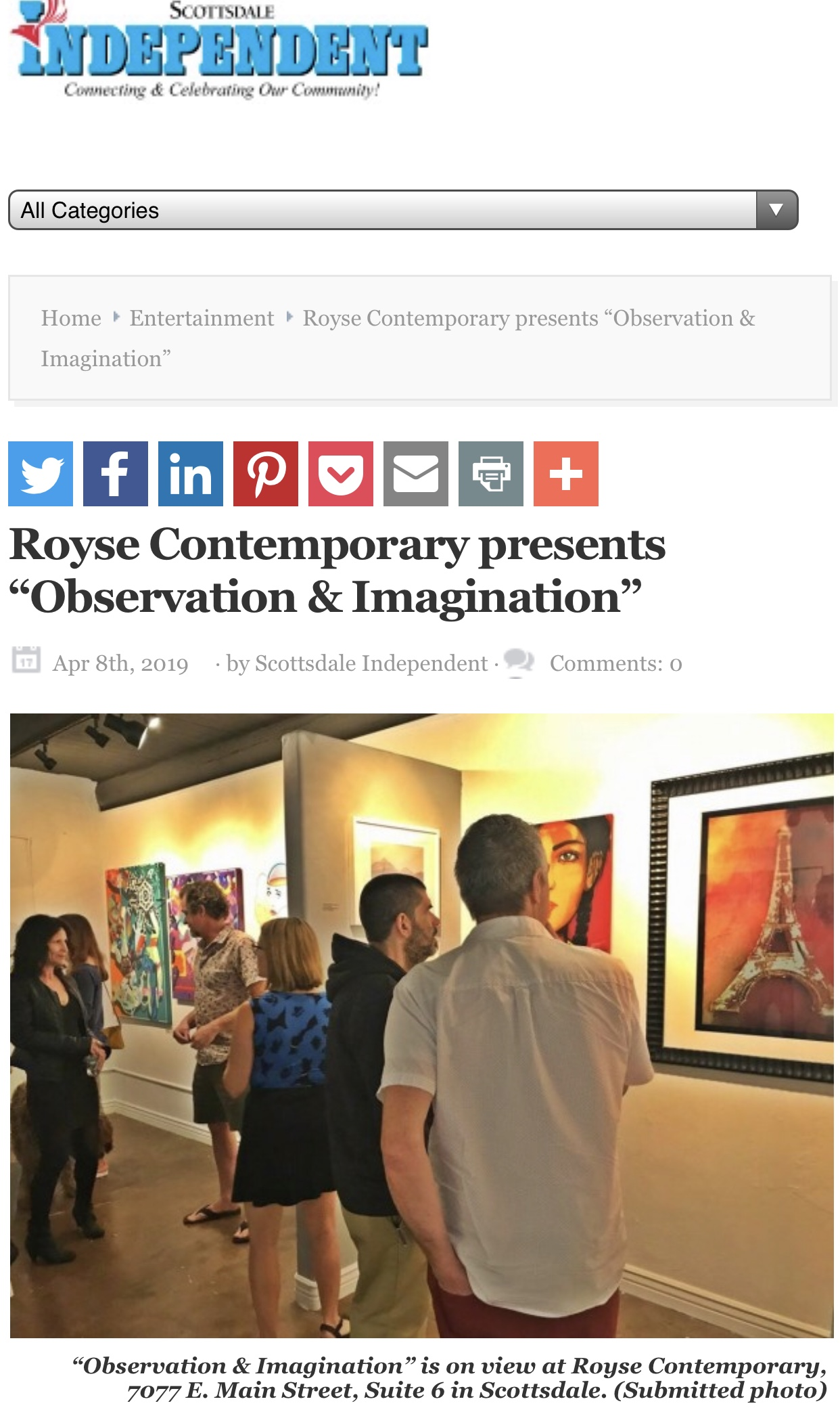 Royse Contemporary Group Exhibition