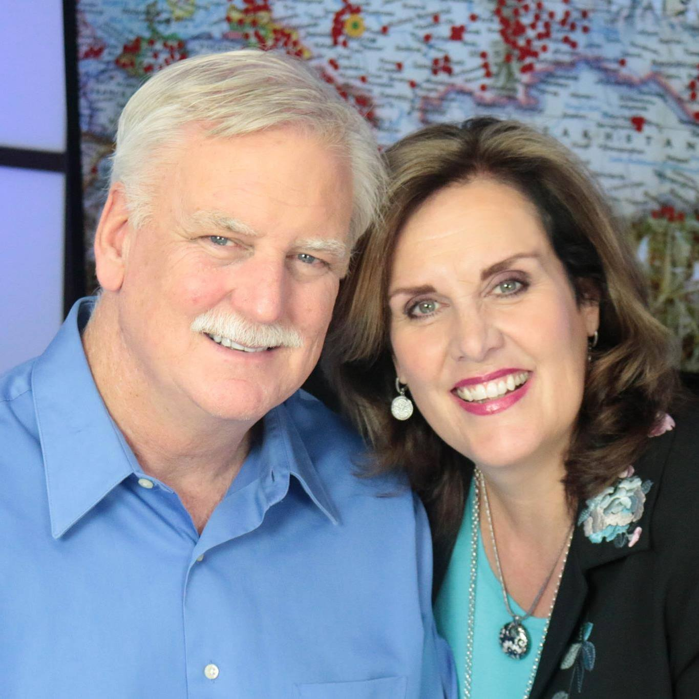 Dr. Kevin and Dr. Leslie McNulty - Through Christian Adventures International the McNultys host mass media and mass outreach events all over the world.Website Facebook Page