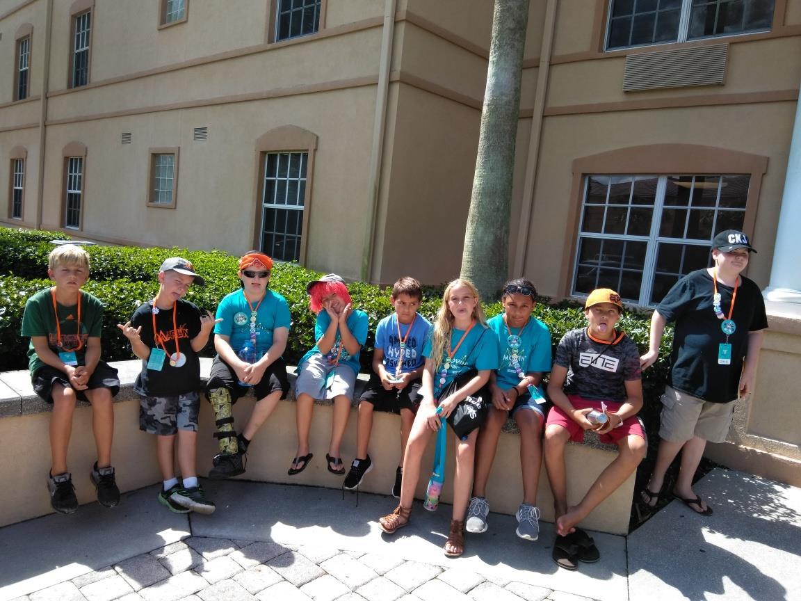13 attendedSUMMER CAMP -