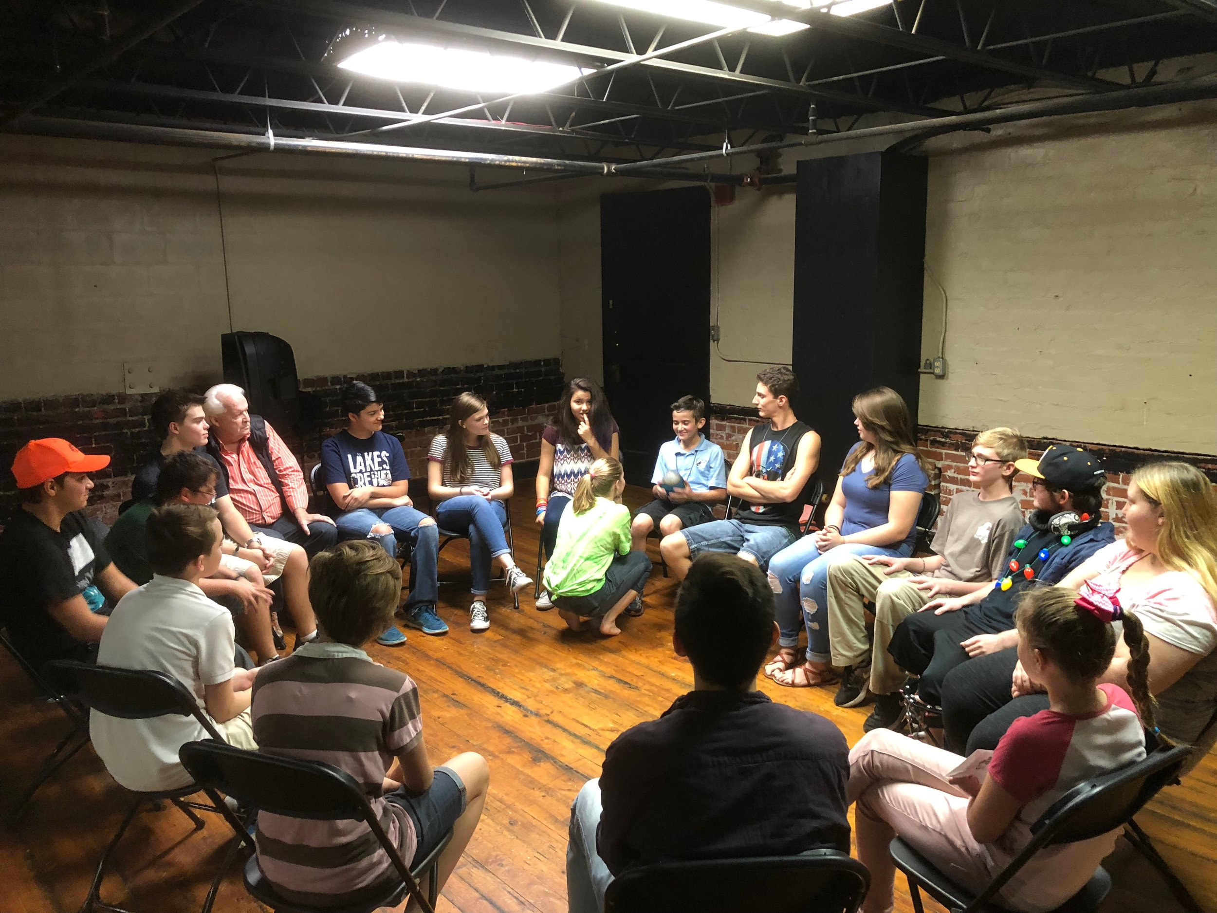4 age specific SMALL GROUPS -