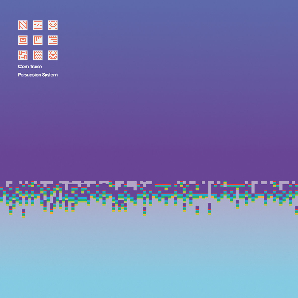 """Artwork for Com Truise's next album """" Persuasion System""""  which   releases May 17, 2019 ."""