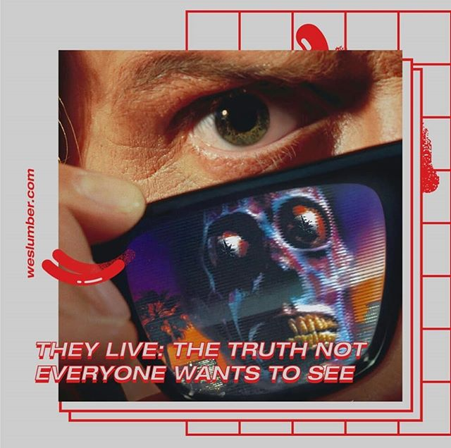 Slide to see what your god is. Link in bio. • • • • • #theylive #johncarpenter #80s #cultmovie #cultfilm #cultmovies #sciencefiction #80smovies #classicmovies #socialcommentary #anticapitalism #capitalismsucks #anticapitalist #godmoney #money #critique #cinema #illuminati #cultcinema #1980s #moneyisnoteverything #puttheglasseson #modernsociety #sicksociety